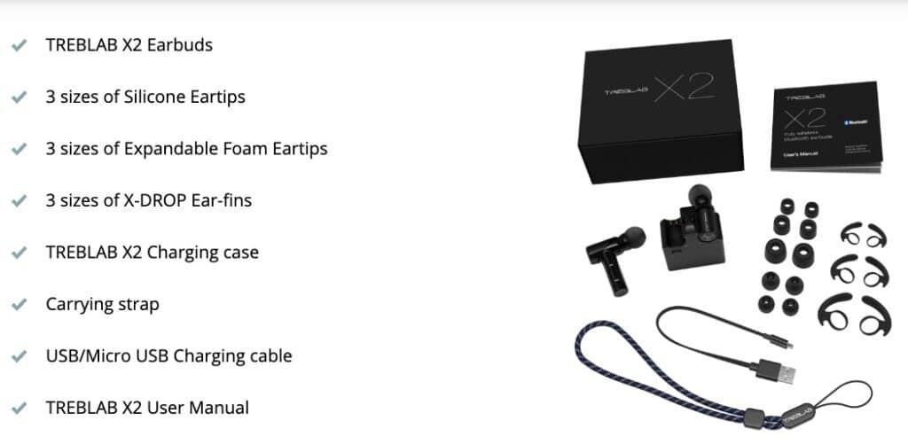 treblab x2 packaging