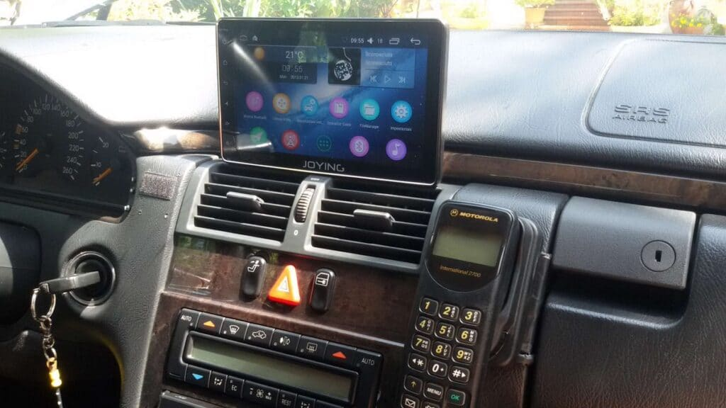 single din head unit joying