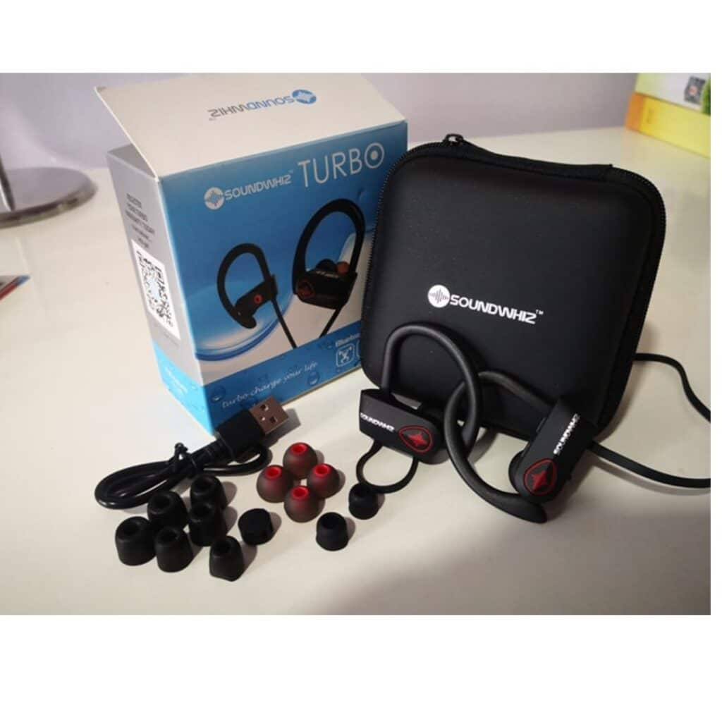soundwhiz turbo headphones packaging