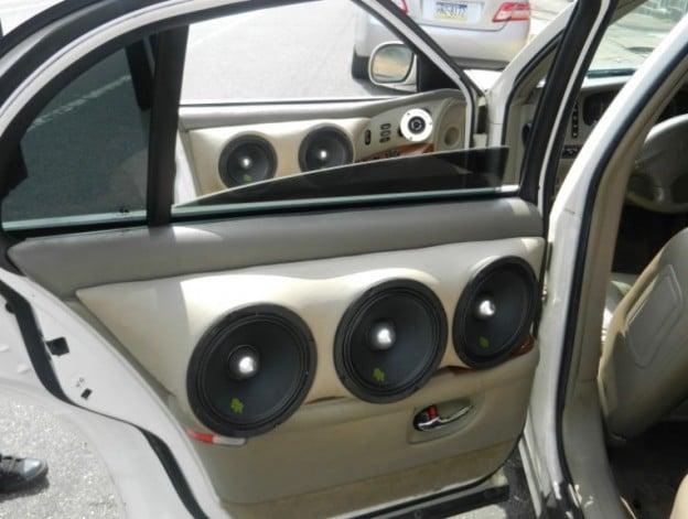 car speakers in the door