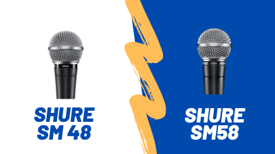 Shure SM48 VS SM58 – Head to Head Comparison